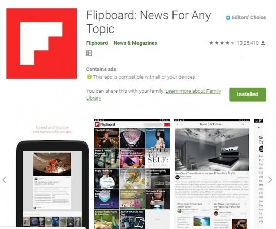 Flipboard hacked