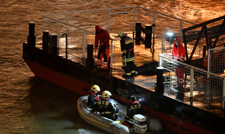 A tourist boat carrying South Korean passengers and two crew members capsized in the Danube River in Budapest