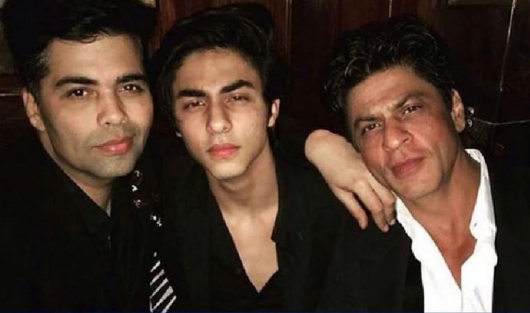 Karan Johar, Aryan Khan, Shah Rukh Khan