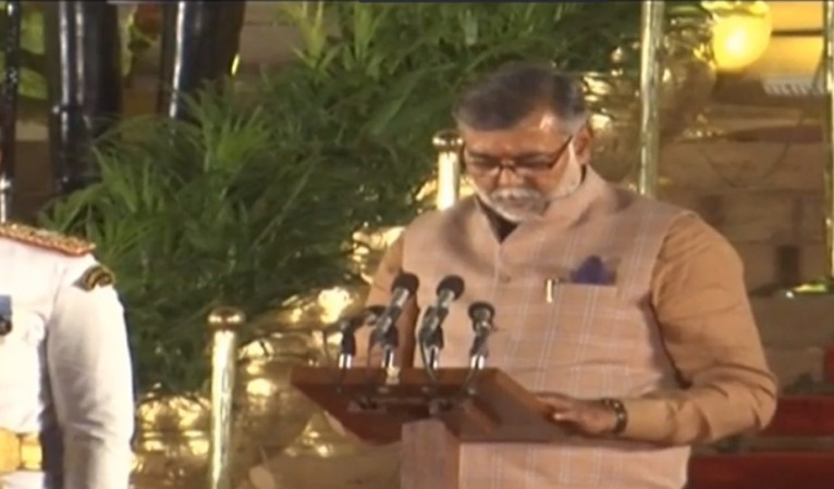 Prahlad Singh Patel takes oath as Union Minister