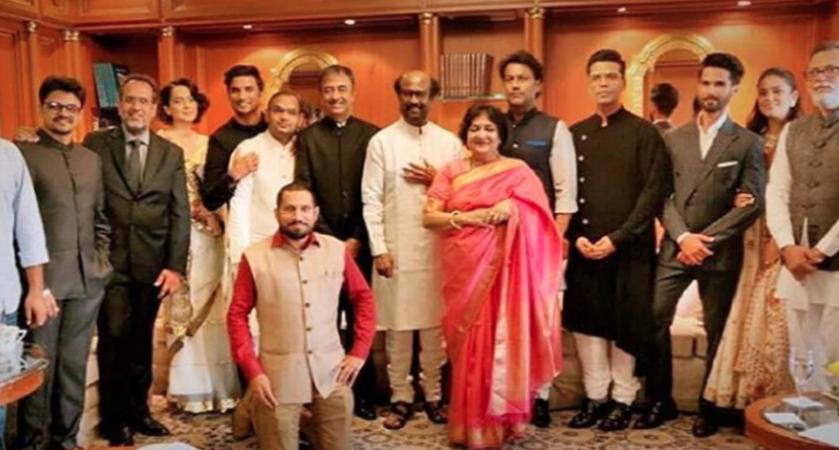 Kangana Ranaut and Karan Johar in one frame at the Narendra Modi oath taking ceremony