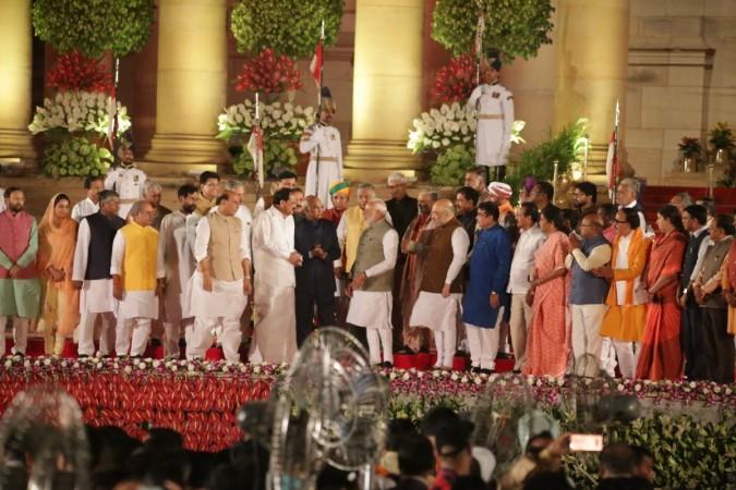 Prime Minister Narendra Modi swearing in