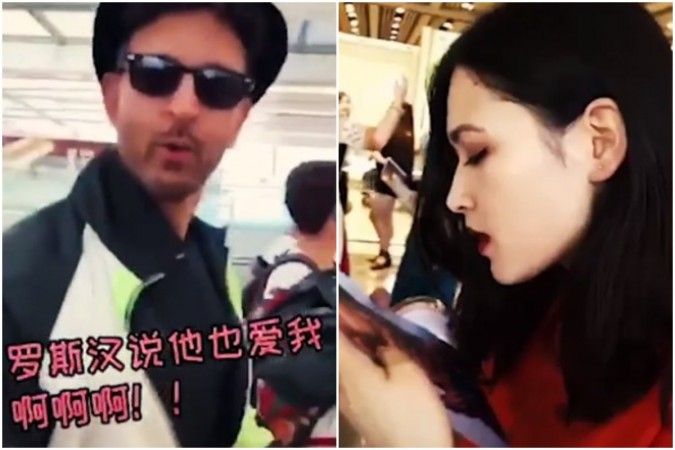 Hrithik Roshan's Chinese fan goes crazy