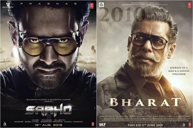 Saaho and Bharat posters