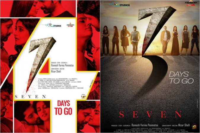 Seven movie posters