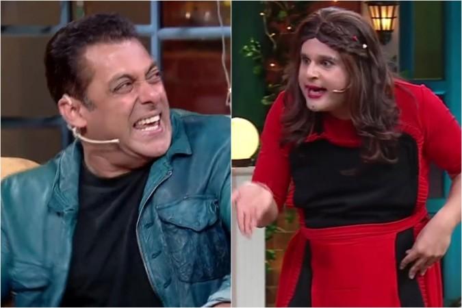 Salman Khan, Krushna Abhishek