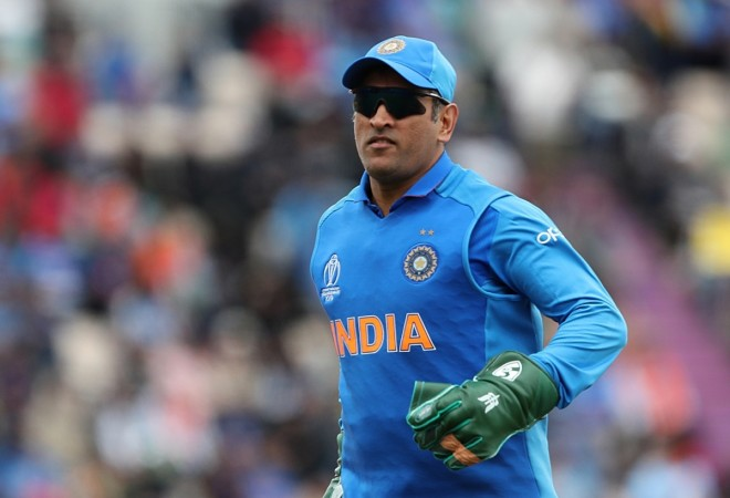 Image result for insignia on dhoni's gloves