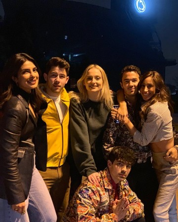 The Jonas Brothers with J-Sisters