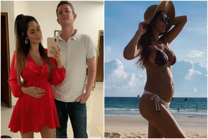 Pregnant Bruna Abdullah and Allan Fraser reportedly got married