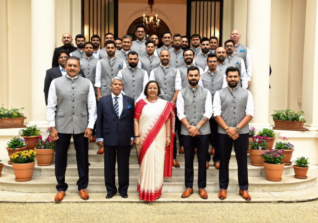 Indian cricket team visit to High Commissioner's office