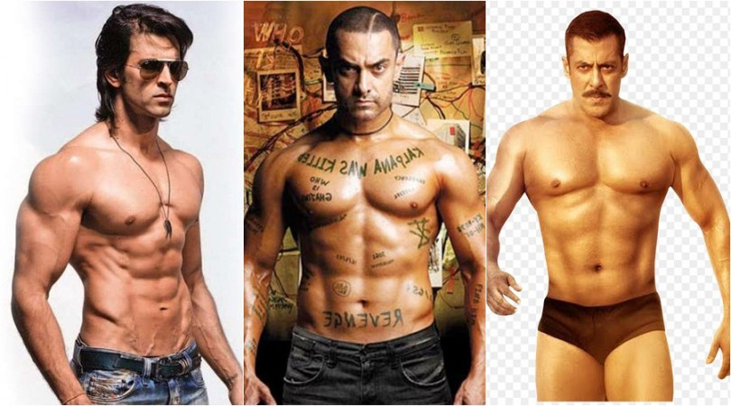 Hrithik Roshan, Aamir and Salman Khan