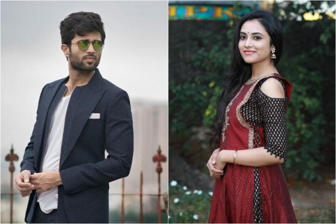Vijay Devarakonda and Priyanka Arul Mohan,