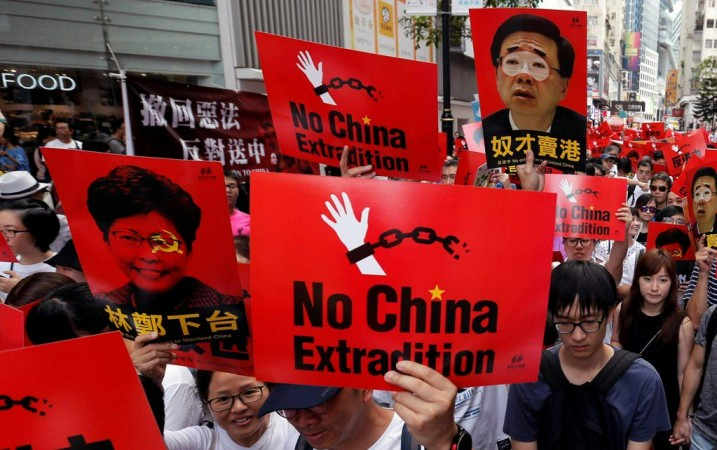 Anti extradition law protests