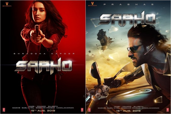 Prabhas and Shraddha Kapoor's first looks from Saaho