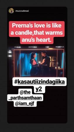 Erica Fernandes, Parth Samthaan, Kasautii Zindagii Kay 2