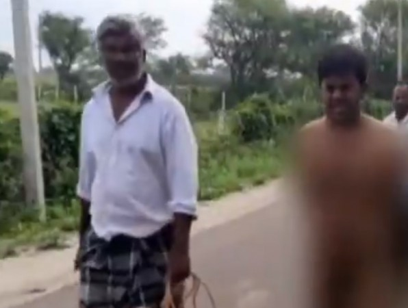 Dalit mob lynch