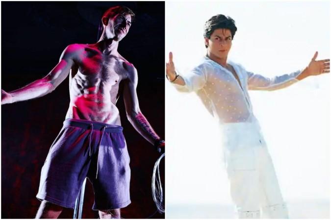Danny D posing like Shah Rukh Khan