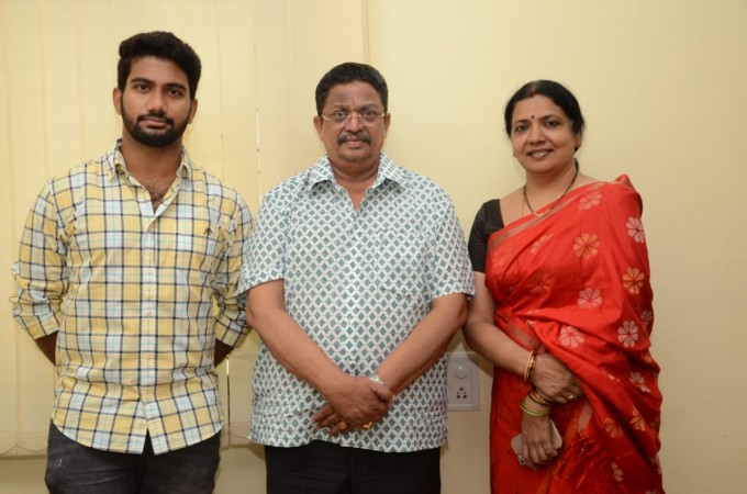 Jeevitha with C Kalyan and Prashanth Varma