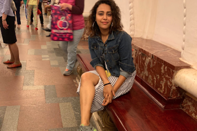 Swara Bhasker on vacation in Russia