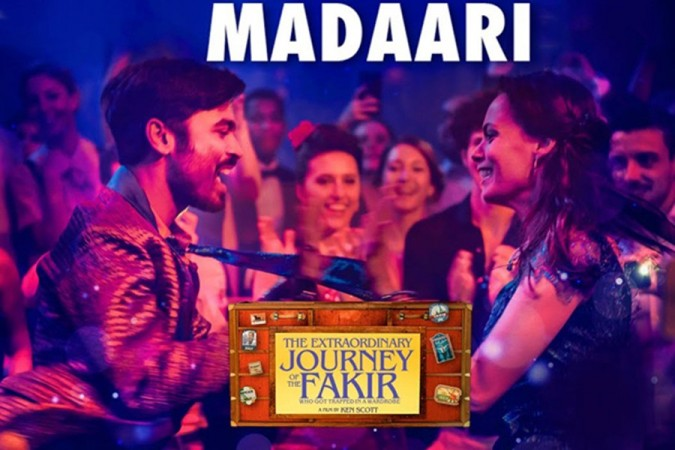 Dhanush's wacky dance moves in the music video of the second song Madaari from The Extraordinary Journey of the Fakir