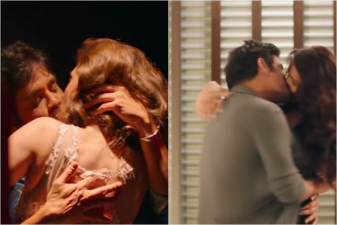 Rakul and Akshara Gowda's Kiss Scenes in Nagarjuna's Manmadhudu 2