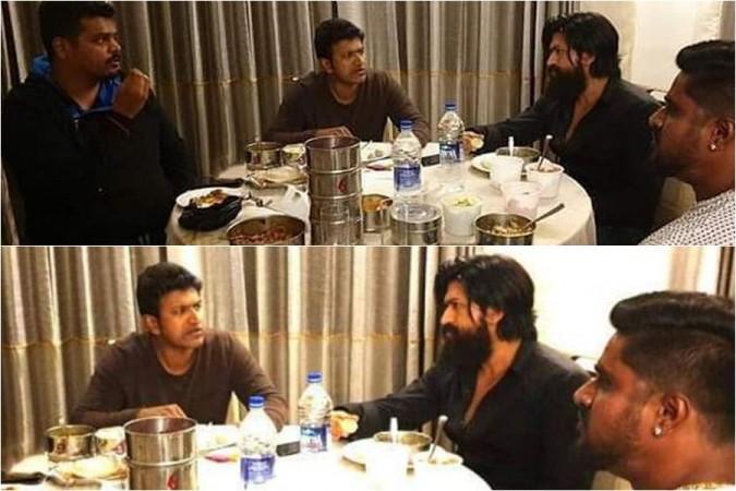 Yash and Puneeth Rajkumar