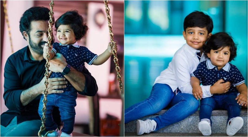 Junior NTR, Bhargava Ram and Abhay Ram