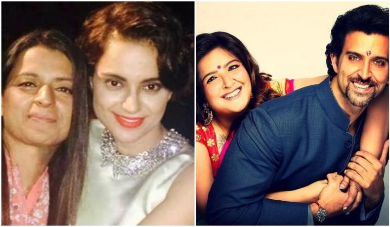 Tension in Hrithik Roshan's family increases after Kangana Ranaut's sister made a tweet on Sunaina