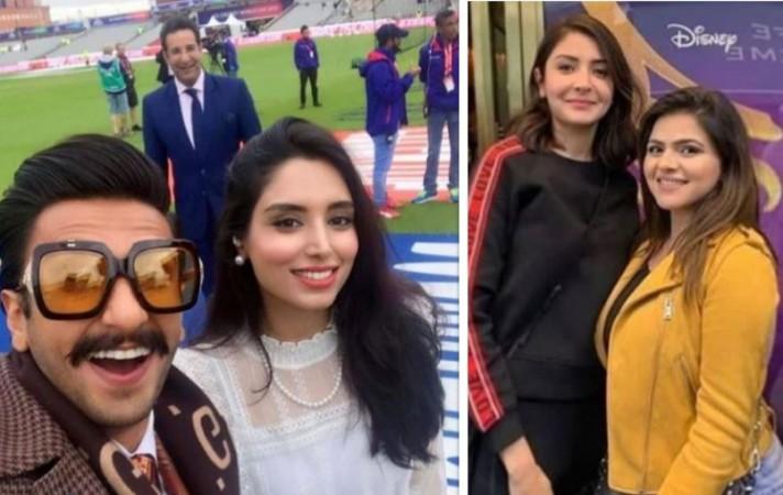 Ranveer Singh, Anushka Sharma, Wasim Akram