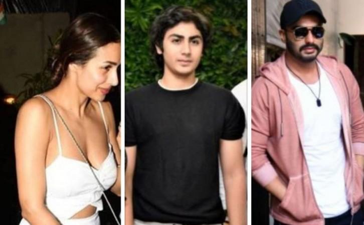 Malaika Arora, Arhaan Khan, Arjun Kapoor