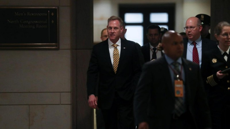 US Acting Defence Secretary Patrick Shanahan