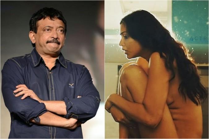 Ram Gopal Varma and Amala Paul