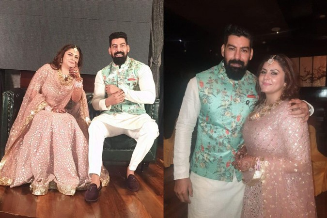 Kabir Duhan Singh's engagement with Dolly Sidhu