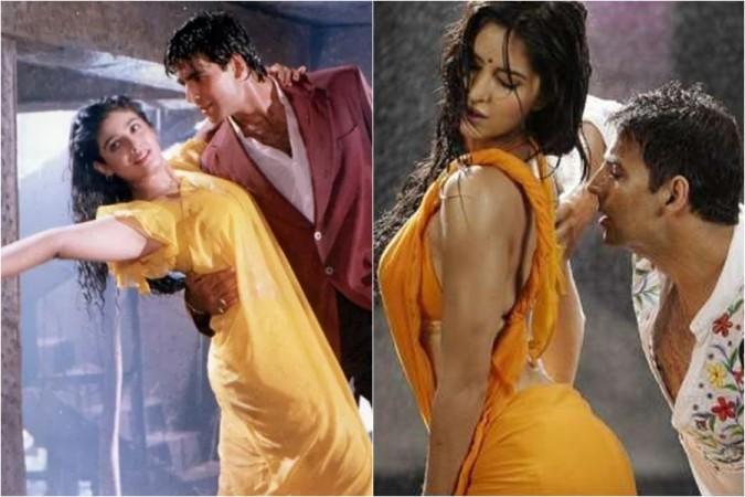 Raveena Tandon, Akshay Kumar, Katrina Kaif