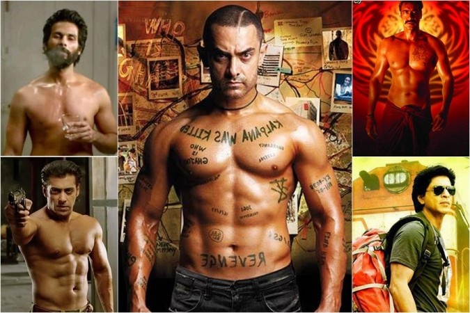 Shahid Kapoor, Aamir Khan, Salman Khan, Ajay Devgn and Shah Rukh Khan