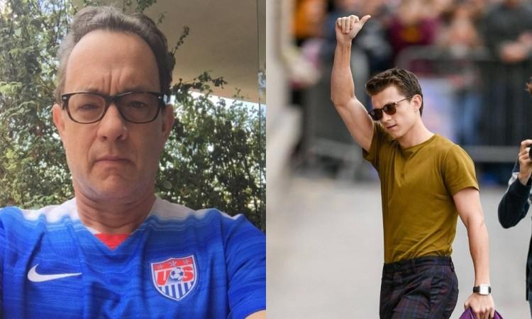Tom Hanks and Tom Holland