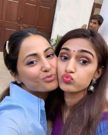 Kasautii Zindagii Kay 2 actresses Erica Fernandes and Hina Khan