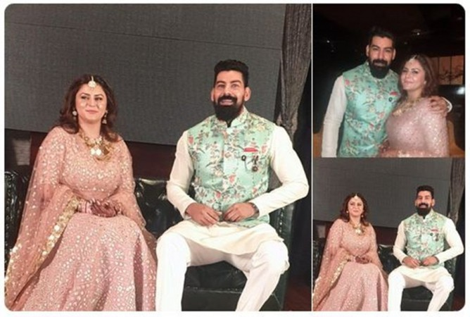 Kabir Duhan Singh's engagement with Dolly Sindhu