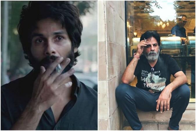 Shahid Kapoor in Kabir Singh, Rahul Roy (right)