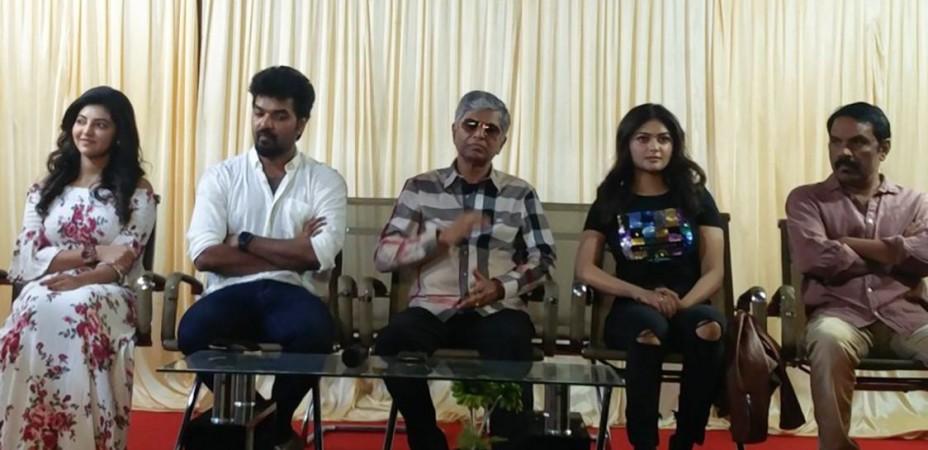 SA Chandrasekar at Capemari Press Meet