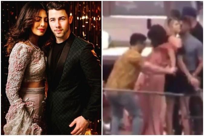 Nick Jonas saves Priyanka Chopra from falling off yacht