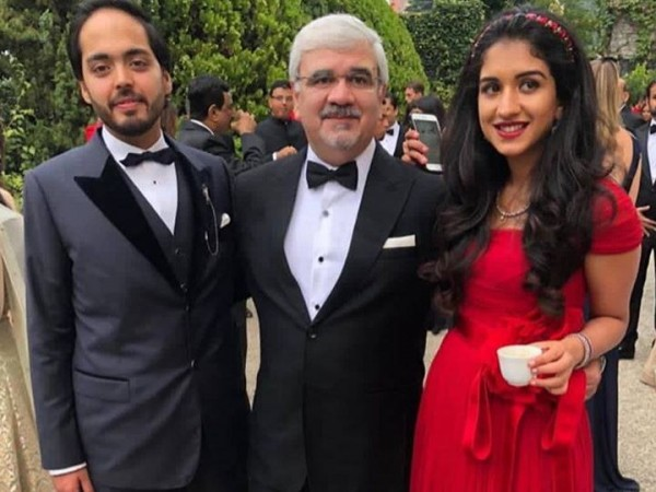 Radhika Merchant and Anant Ambani