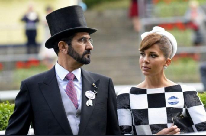 Sheik Mohammed bin Rashid al-Maktoum and Princess Haya Bint Al Hussein
