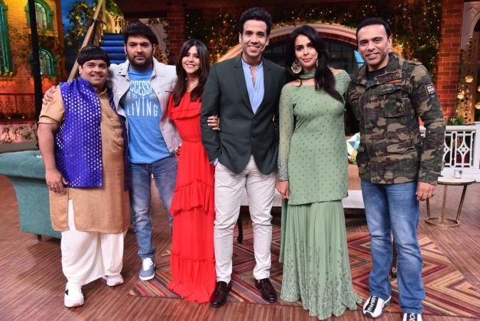 Kiku Sharda, Kapil Sharma, Ekta Kapoor, Tusshar Kapoor, Mallika Sherawat