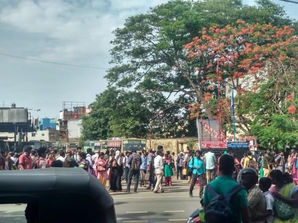 Chennai bus strike