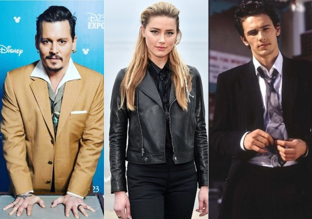 Johnny Depp, Amber Heard and James Franco