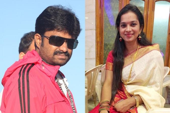 AL Vijay with his wife-to-be Aishwarya