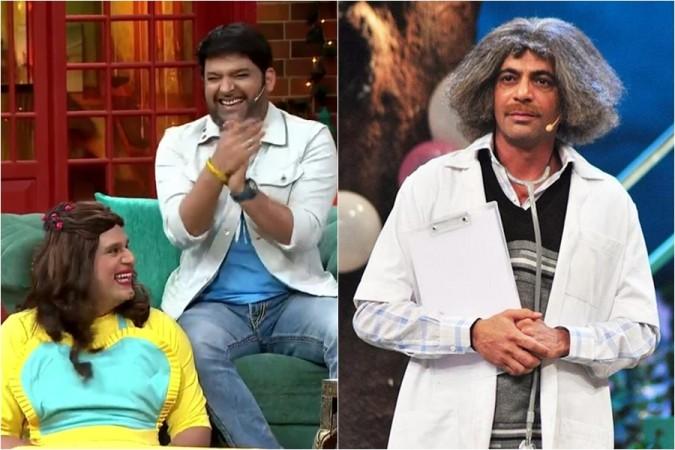 Krushna Abhishek, Kapil Sharma, Sunil Grover