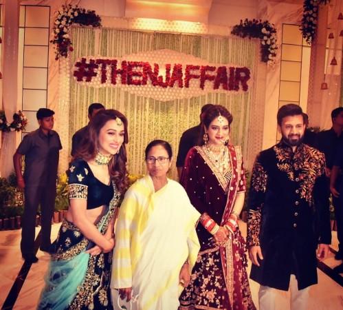 nusrat jahan wedding reception