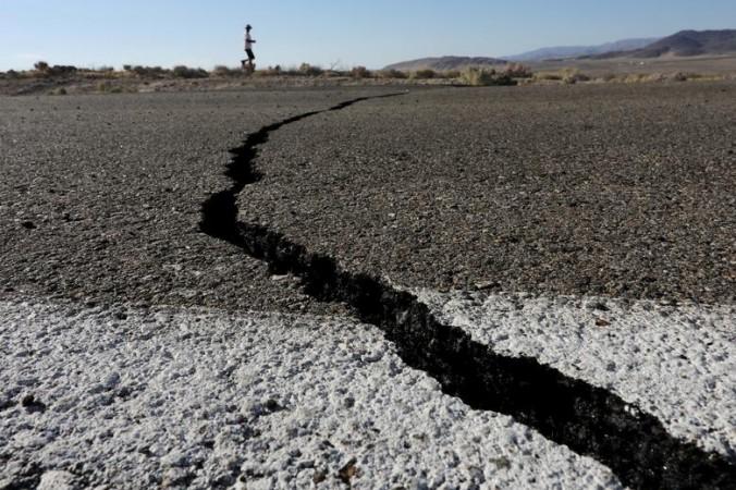 地震在地震中